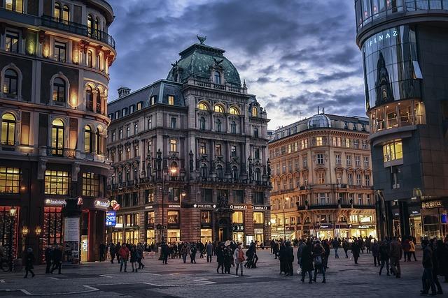 Ciudad de Viena, la primera de las mejores ciudades para vivir.