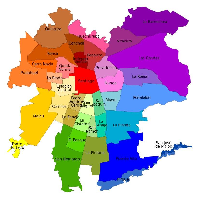 Comunas de Santiago para buscar arriendos para extranjeros