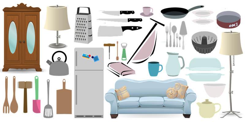 Distintos muebles para arrendar
