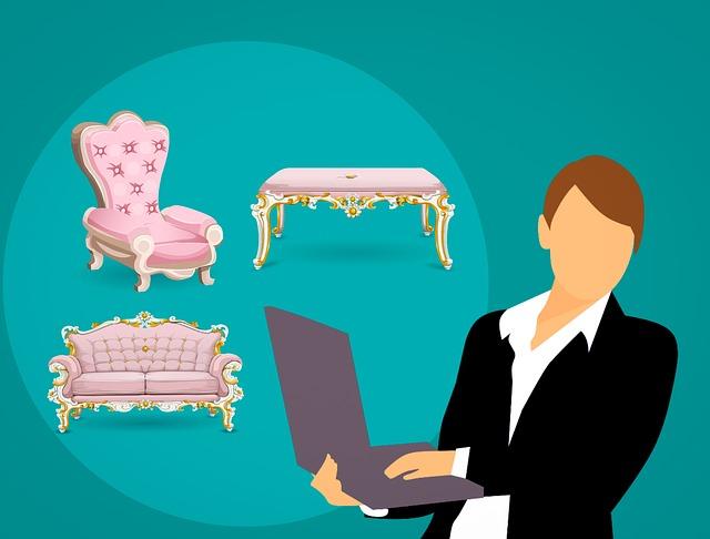 Persona dudando si comprar, trasladar o arrendar muebles