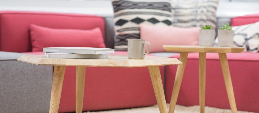 Mesa de cafe para arrendar