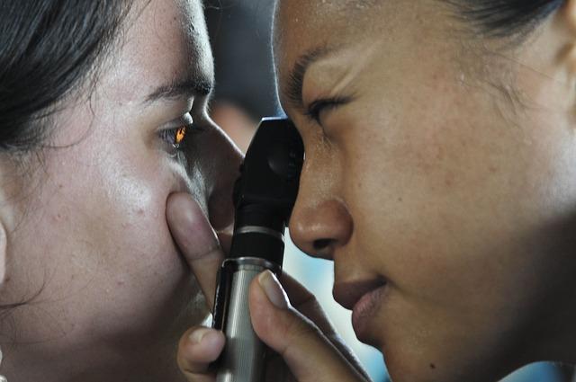 Paciente en oftalmologo