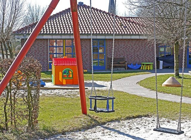 instalciones de los jardines infantiles
