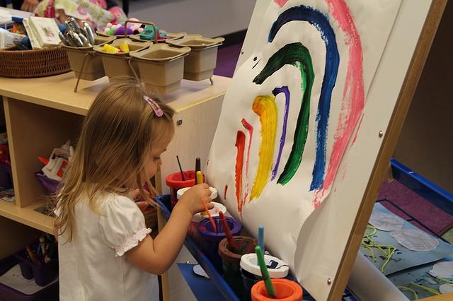 actividades en los jardines infantiles