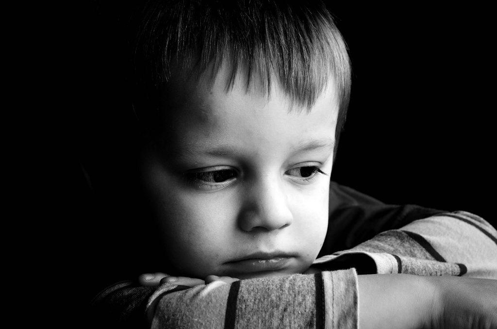 Mudanza en los niños y los efectos