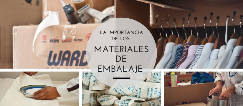 Importancia de los materiales de embalaje