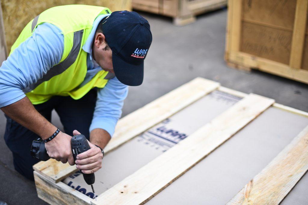 Cajas de madera para material de embalaje