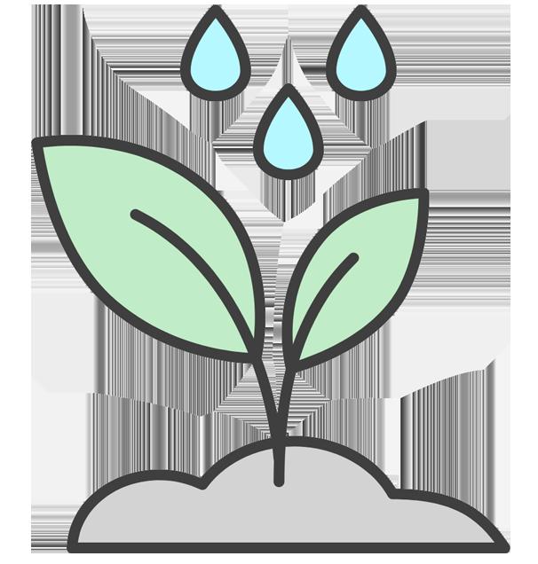 Riego por goteo para ahorrar agua